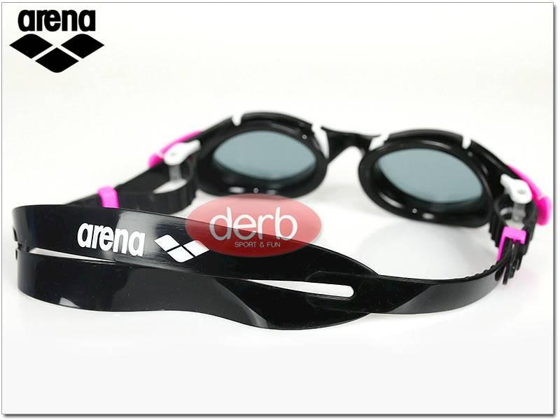 Okulary ARENA Nimesis Woman - czarno różowe