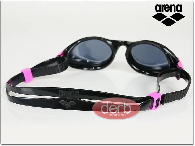 Okulary ARENA Fluid Woman - czarno różowe
