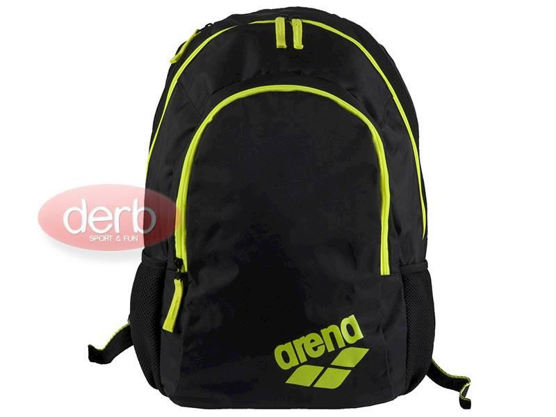 Plecak ARENA Spiky 2 - Czarno żółty