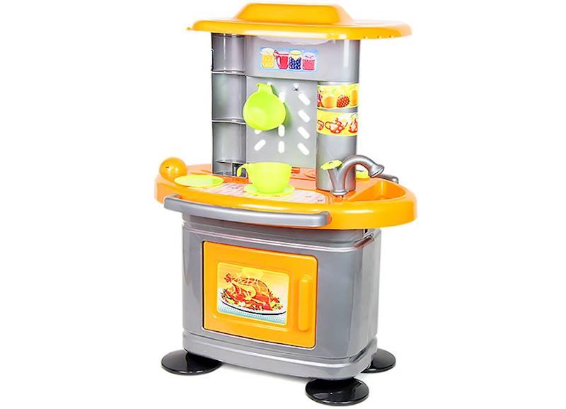 Kuchnia dla dzieci 67 cm - Pomarańczowa