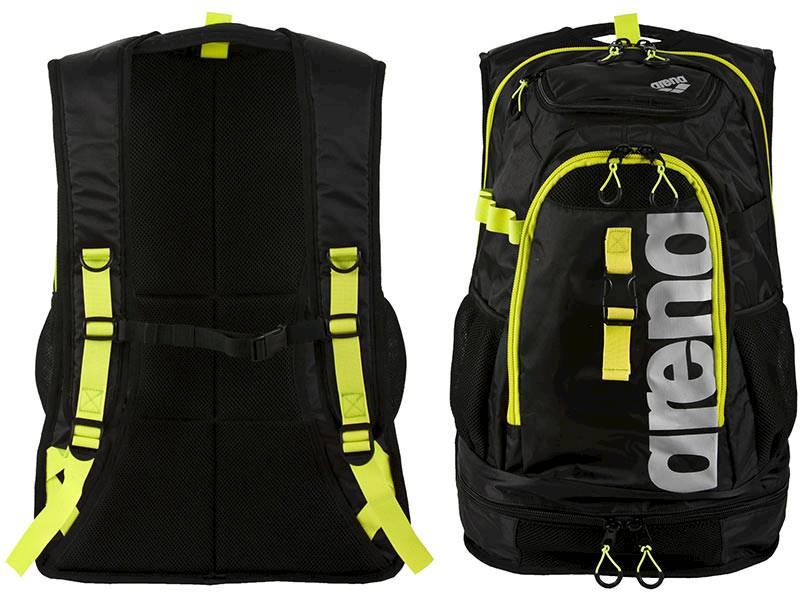 Plecak ARENA FastPack 2.1 - Czarno Zółty