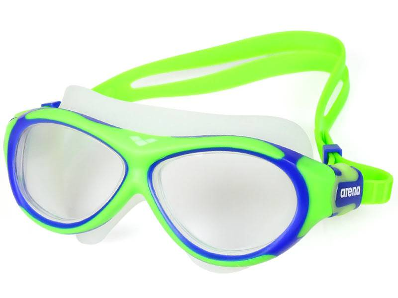 Okulary dla dzieci ARENA Oblo - Zielone