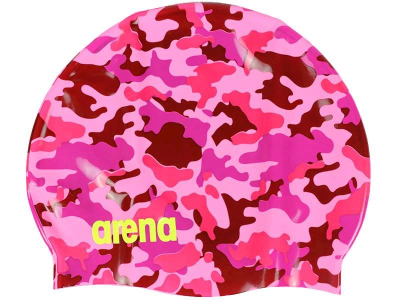 Czepek do pływania ARENA Print 2 - Camou rose