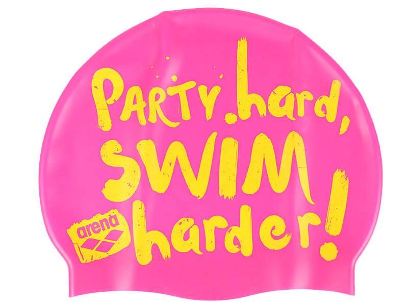 Czepek do pływania ARENA Poolish 2-Slogan fresiaro