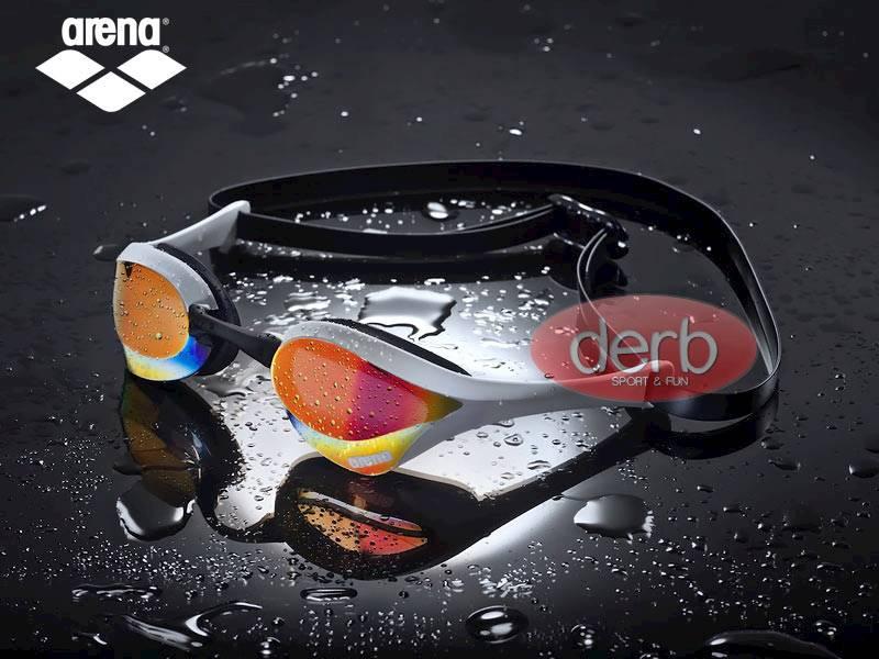 Okulary ARENA Cobra Ultra MIRROR- Red white black