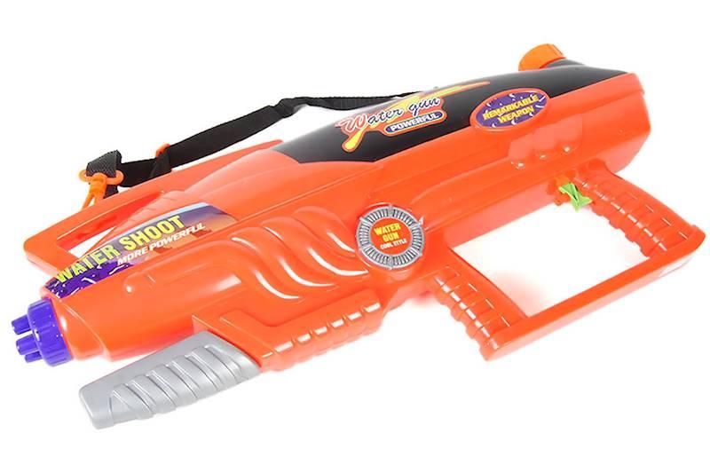 Pistolet na wodę 61 cm - czerwony