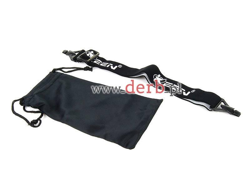 Okulary narciarskie Freezeline - czarno transp