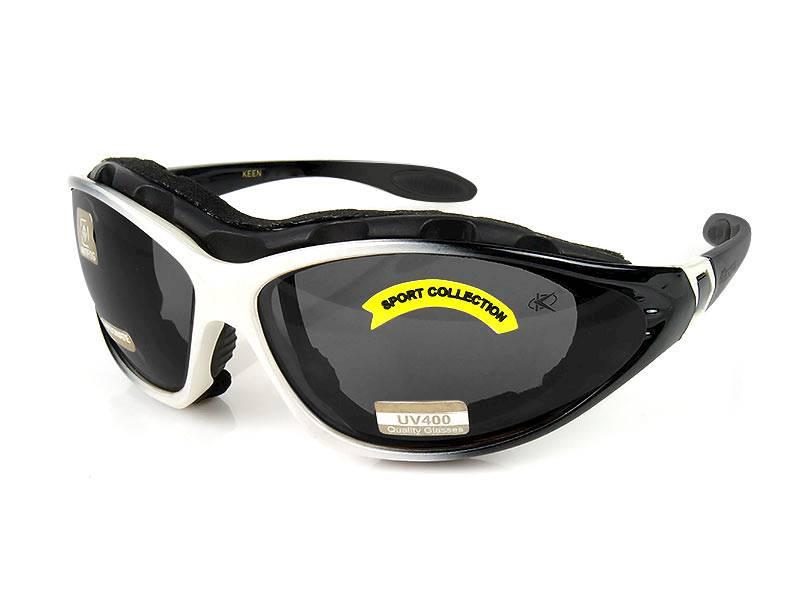 Okulary narciarskie Freezeline - czarno srebrne