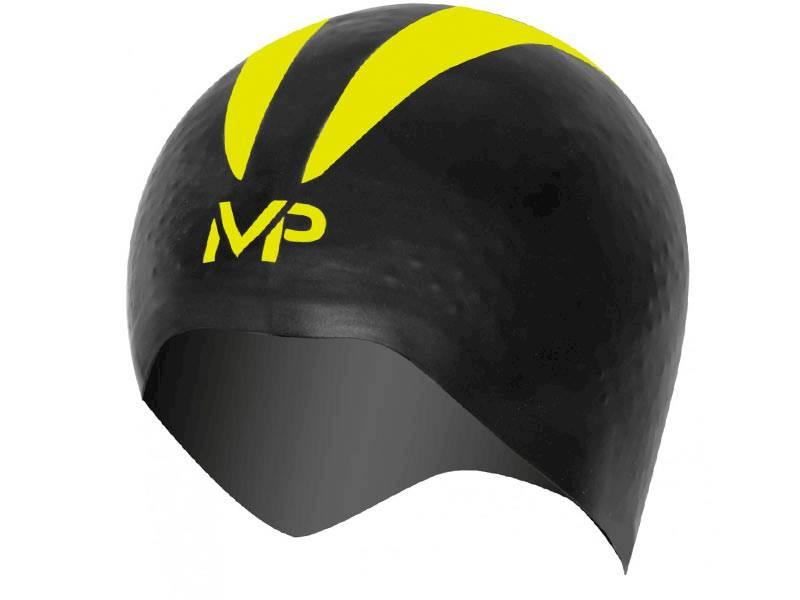 """Czepek do pływania X-O Cap MP """"S"""" blk/yellow"""