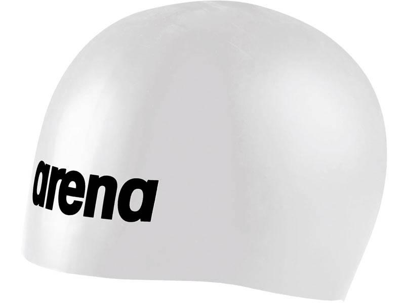 Czepek silikonowy ARENA Mulded PRO - Biały