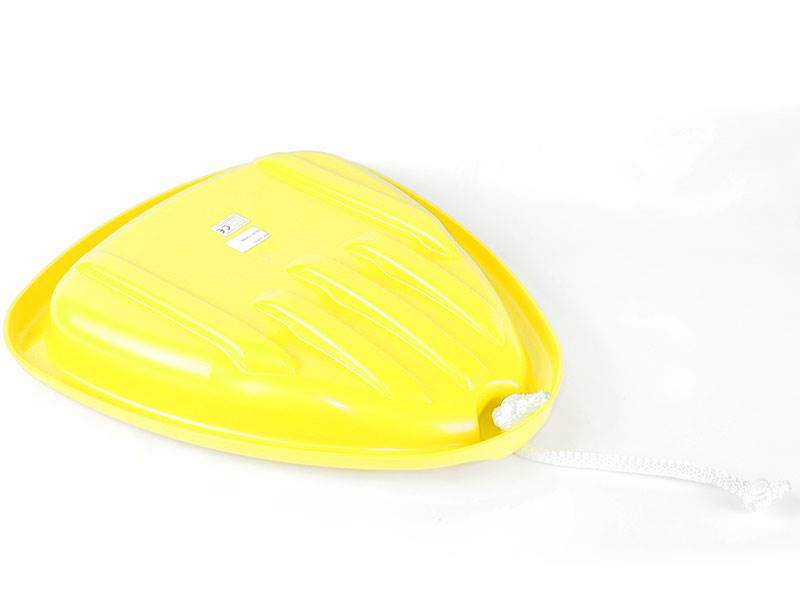 Ślizgacz skrzydło dla dzieci - snowboard żółty