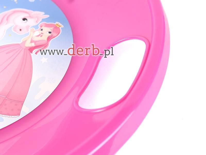 Ślizgacz dla dzieci - księżniczki różowy