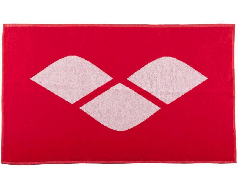 Ręcznik ARENA - HICCUP - Czerwony