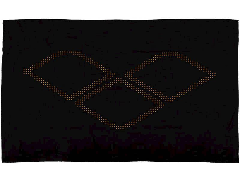 Ręcznik ARENA HALO - Czarny