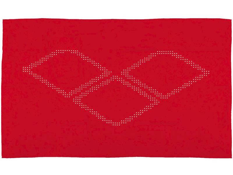 Ręcznik ARENA HALO - Czerwony