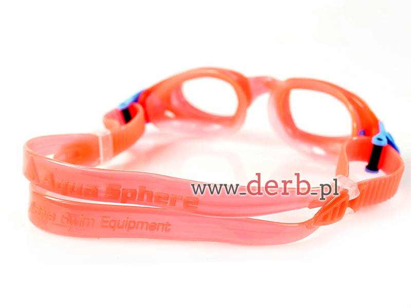 Aqua Sphere Okulary Moby Kid Clear Lens redobs/bai
