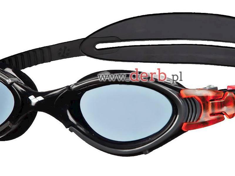 Okulary ARENA Nimesis Crystal Medium - Czarn/czerw