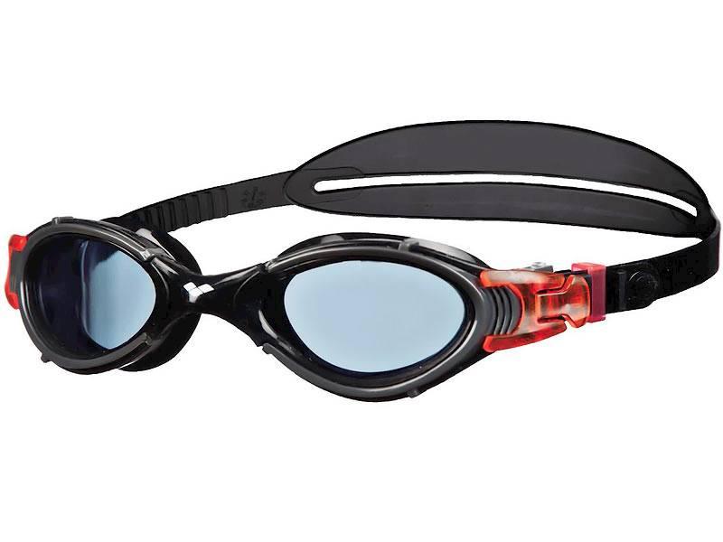 Okulary ARENA Nimesis Crystal Large - Czarno/czerw