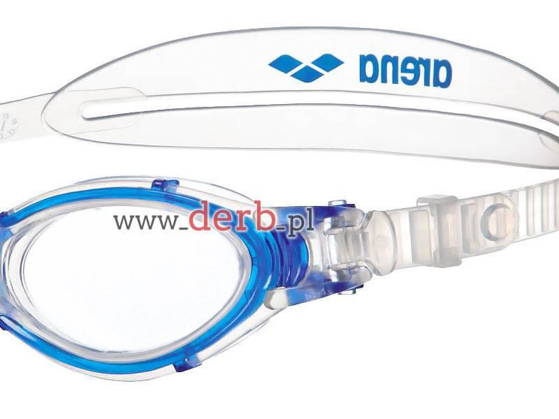 Okulary ARENA Nimesis Crystal Large - Przezr/niebi