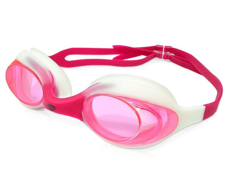 Okulary do pływania dla dzieci Metti - Różowe