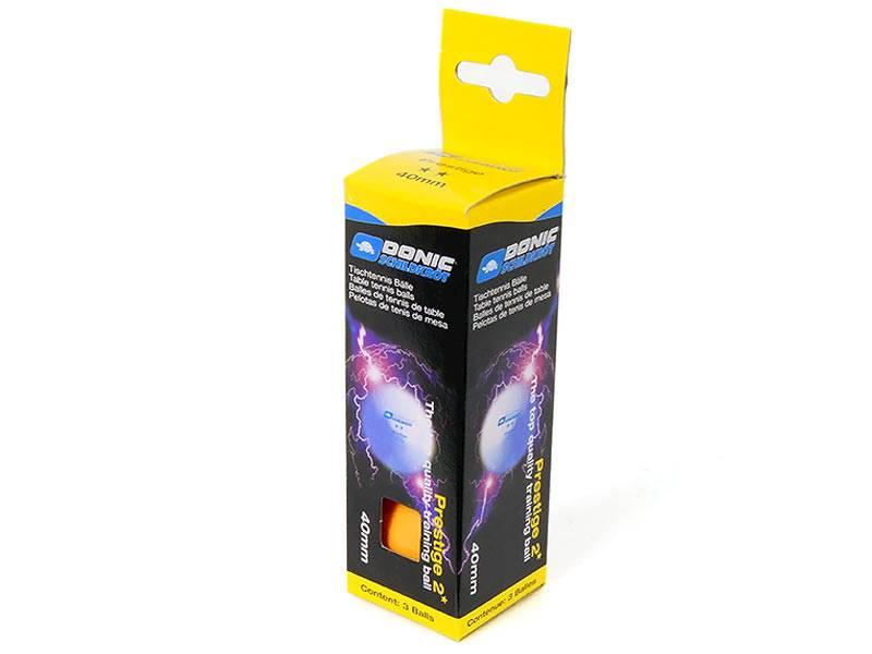 Piłki do tenisa stołowego DONIC Prestige - Zółte