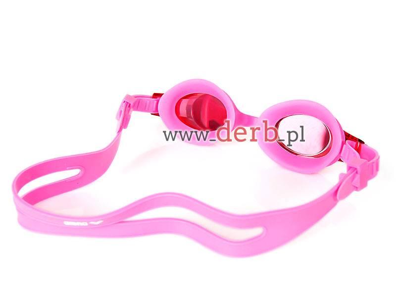 Okulary dla dzieci ARENA X lite Mirror Różowe