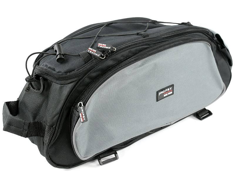 Sakwa na bagażnik - szara
