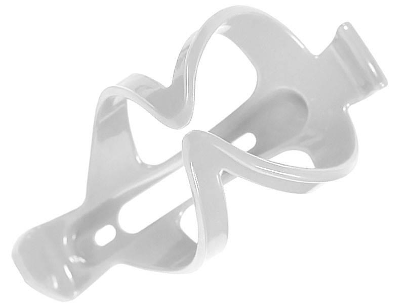 Koszyk bidonu elastyczny - biały