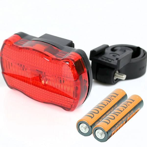 LAMPA TYŁ X-LIGHT 1SUPER LED-LINE + 2xAAA