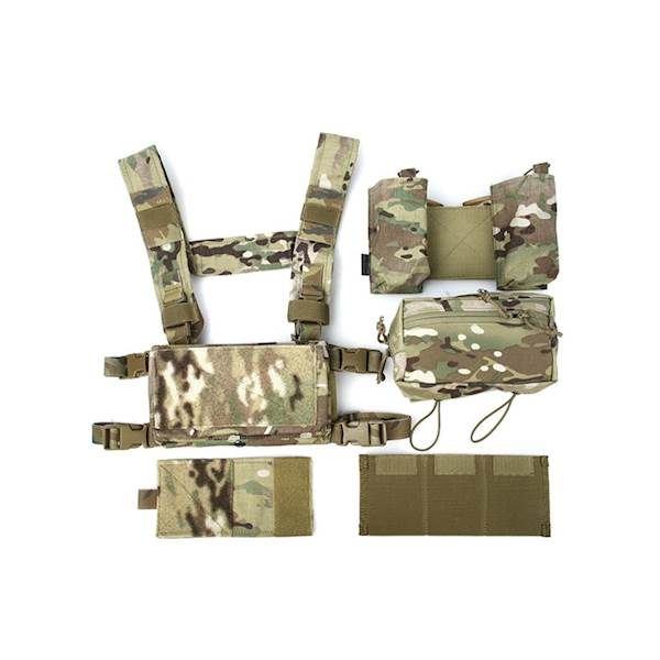 TMC Chest Rig Modular Lightweight Full Set MC