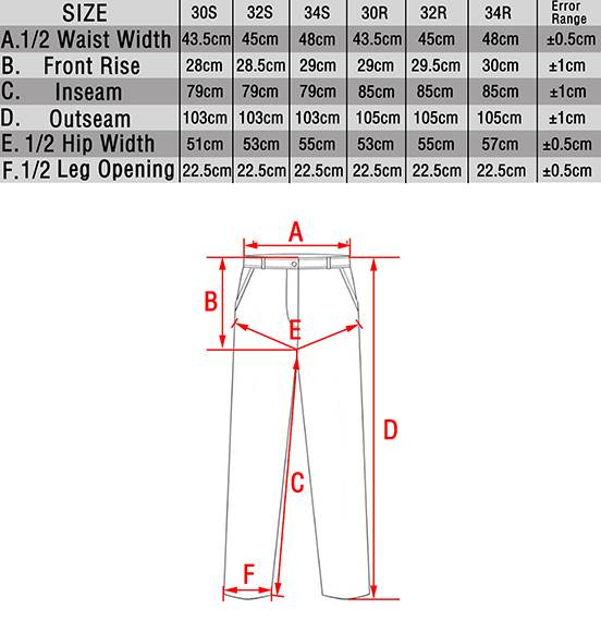 TMC Spodnie Gen3 Oryginal Cut. Black 30R w/KP