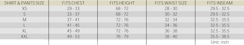 FFI Mundur Gen3 TigerStripe 50/50NyCo RipStop XL