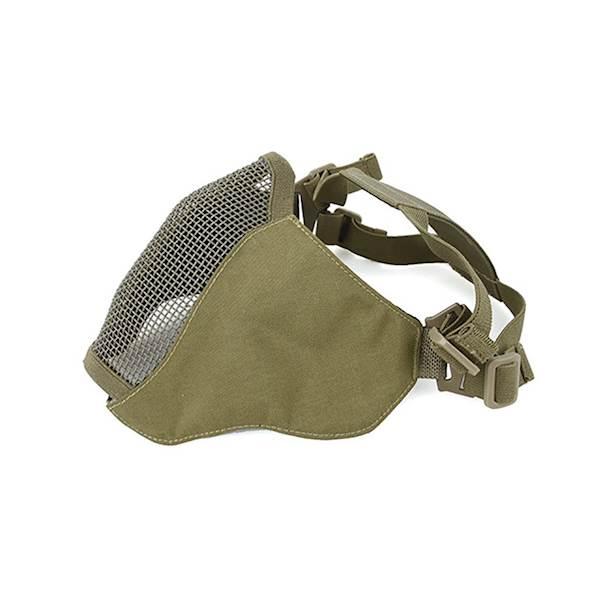 TMC Maska Metal Mesh Half Face ver.2.0 Khaki