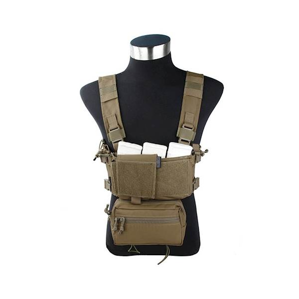 TMC Chest Rig Modular Lightweight Full Set CB