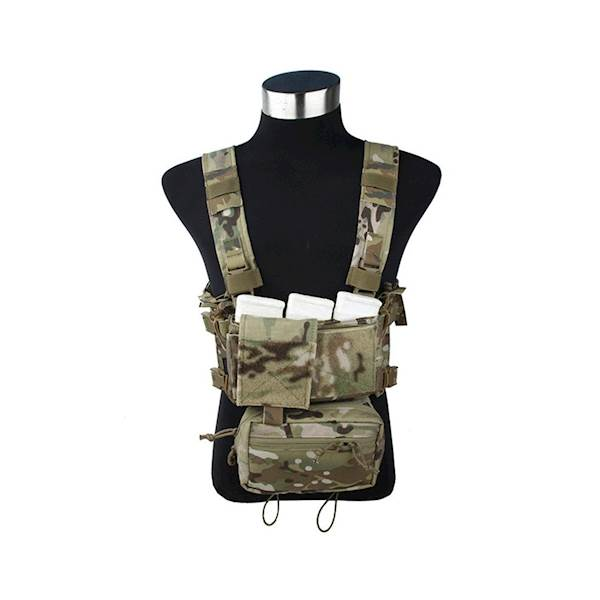 TMC Chest Rig Modular Lightweight Full Set MC