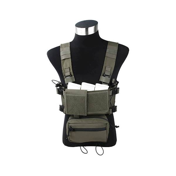 TMC Chest Rig Modular Lightweight Full Set RG
