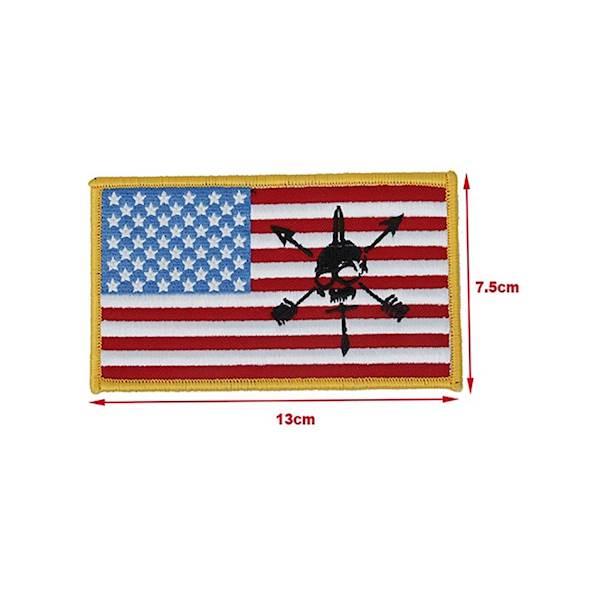 TMC Patch US Nous Defions Flag Blue&Red