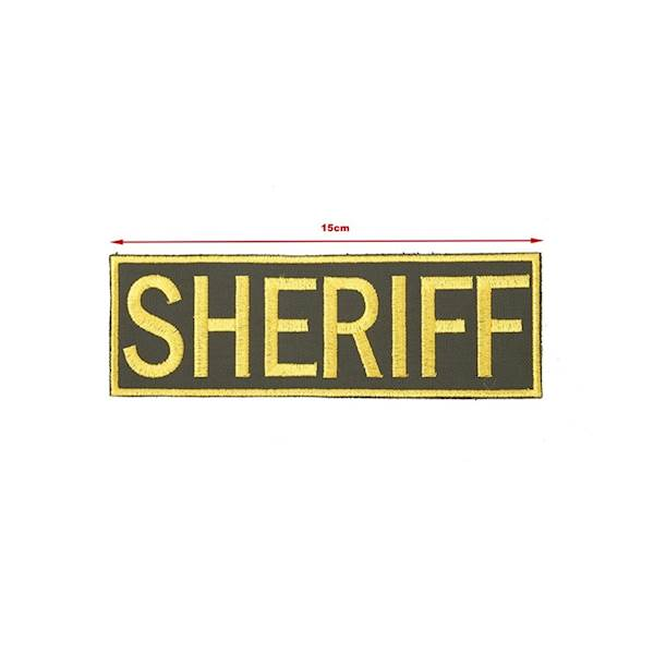 TMC Patch SHERIFF Golden Frame