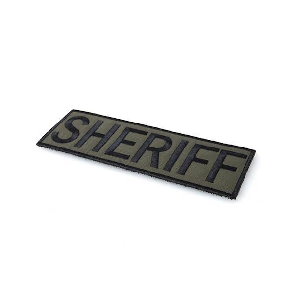 TMC Patch SHERIFF Ranger Green