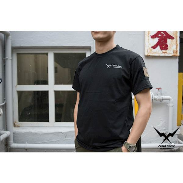 FFI Koszulka Gecko TEE Sport with Velcro Black XL