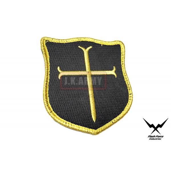 FFI Patch NAVY SEALs Crusader Cross (Gold/Bk)