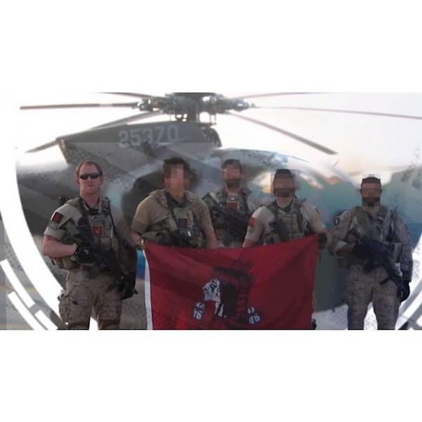 FFI Patch NAVY SEALs DEVGRU Red Team Flag