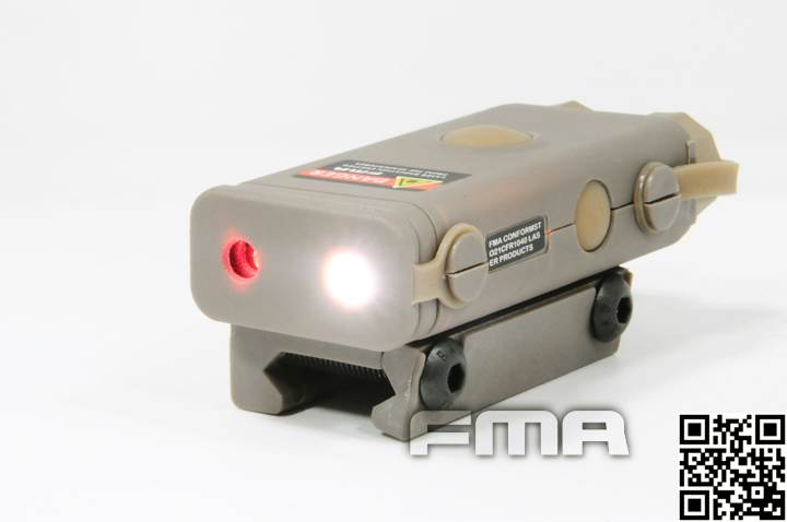 FMA Replika PRO-LAS-PEQ10 Red laser Dark Earth