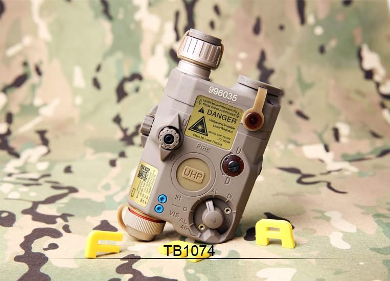 FMA Replika AN/PEQ LA5-C Upgr. ver. Red laser DE