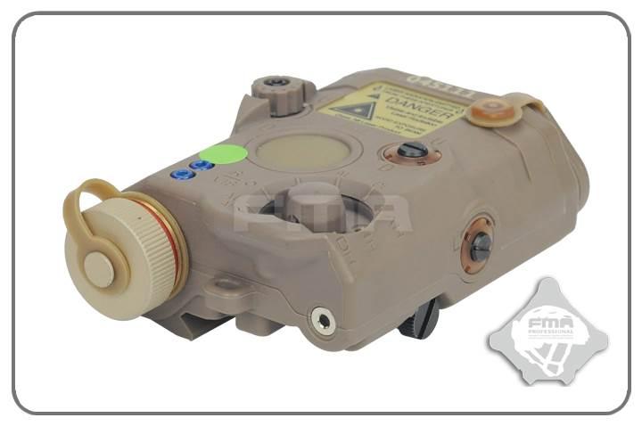 FMA Replika AN/PEQ LA5 Upgrade ver. Green laser DE