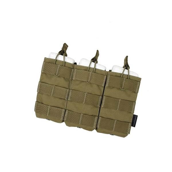 TMC Ładownica potrójna Open Top M4/M16 Khaki