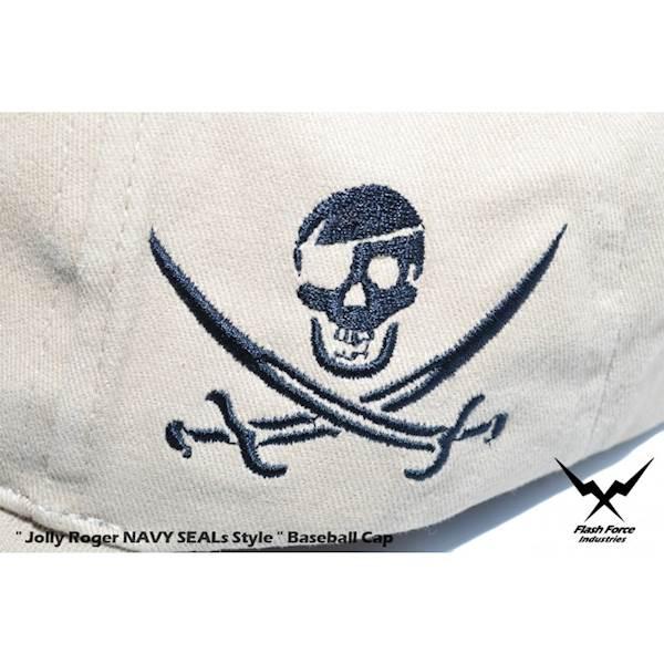 FFI Czapka NAVY SEALs Style Jolly Rroger Khaki