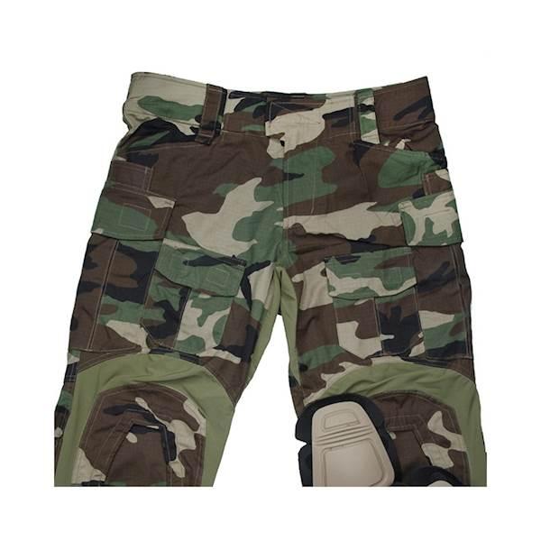 TMC Spodnie Gen3 Oryginal Cut. WoodLand 34S w/KP