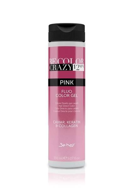 BE HAIR Be Color Crazy 12 min Pink Fluo Color Gel