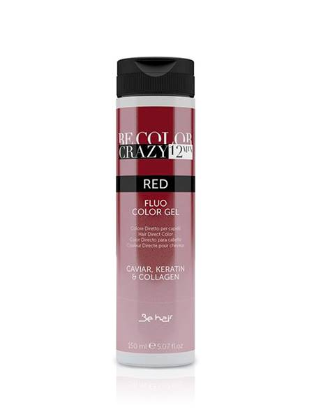 BE HAIR Be Color Crazy 12 min Red Fluo Color Gel